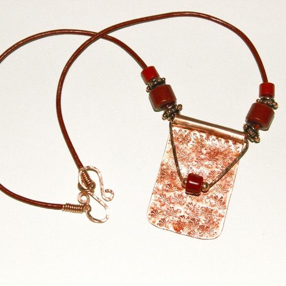 Kaminski Jewelry Designs Jewelry Handmade Copper Pendant On
